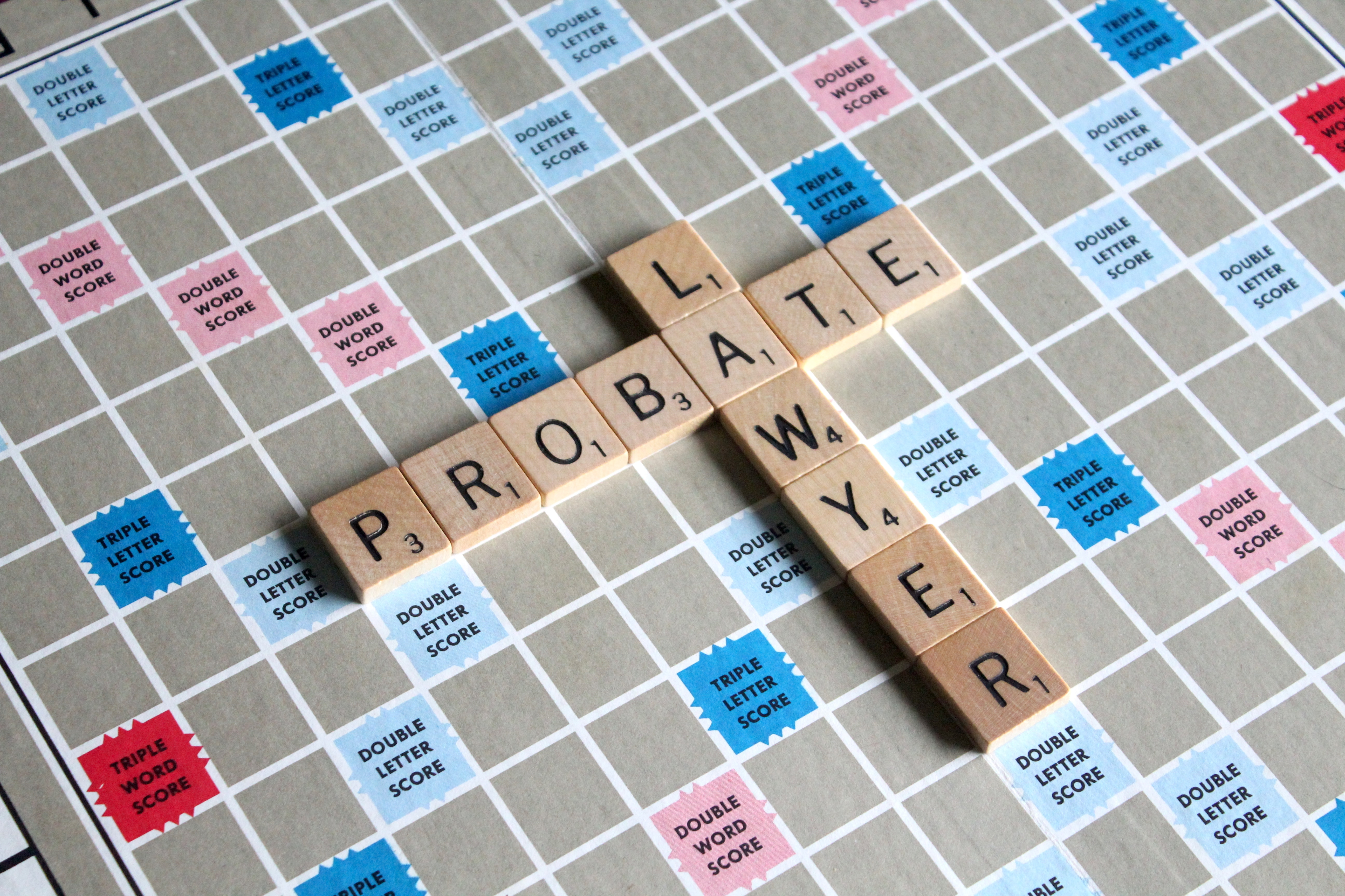 Words on a board game