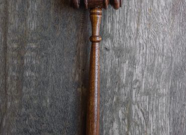 Brown gavel